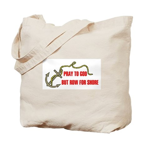 ROW FOR SHORE Tote Bag