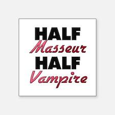 Half Masseur Half Vampire Sticker