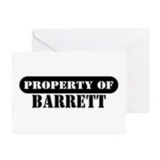Property of Barrett Greeting Cards (Pk of 10)