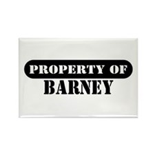 Property of Barney Rectangle Magnet