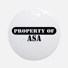 Property of Avery Ornament (Round)