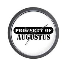 Property of Augustus Wall Clock