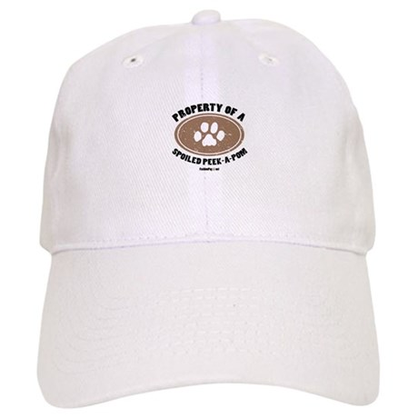 Peke-A-Pom dog Cap