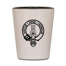 Clan Maclean Badge Shot Glass