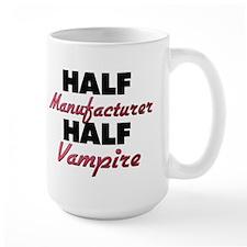 Half Manufacturer Half Vampire Mugs