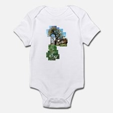 Canterbury Bell Flowers with  Infant Bodysuit