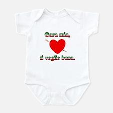 Valentines Day Ti Amo Infant Creeper