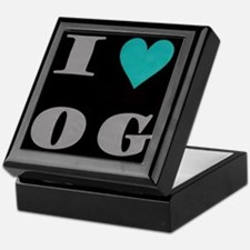 I Love O G Keepsake Box