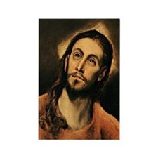 El Greco - Christ Rectangle Magnet