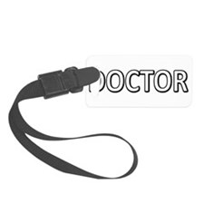 Doctor - White Luggage Tag