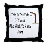 Purim Hang Man Throw Pillow