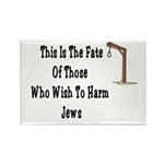 Purim Hang Man Rectangle Magnet (100 pack)