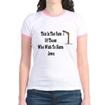 Purim Hang Man Jr. Ringer T-Shirt