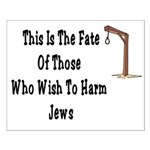 Purim Hang Man Small Poster