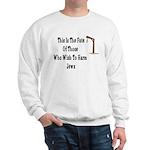 Purim Hang Man Sweatshirt
