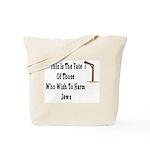 Purim Hang Man Tote Bag
