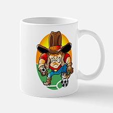 Soccer Cowboy Mug