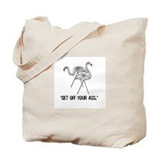 Wonderfalls Flamingo Tote Bag