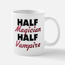 Half Magician Half Vampire Mugs