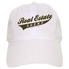 ATHLETE (Khaki Brown) Baseball Cap for the Realtor