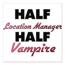 Half Location Manager Half Vampire Square Car Magn