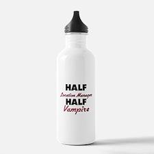 Half Location Manager Half Vampire Water Bottle