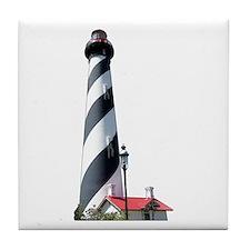 St. Augustine FL Lighthouse Tile Coaster
