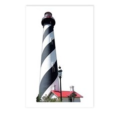St. Augustine FL Lighthouse Postcards (Package of