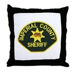 Imperial Sheriff Throw Pillow