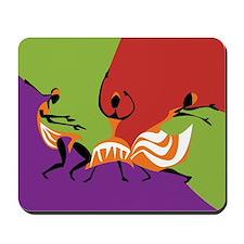 Caribbean Limbo Dance Mousepad