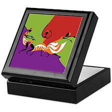 Caribbean Limbo Dance Keepsake Box