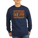 Alpha Male Wolf Long Sleeve Dark T-Shirt
