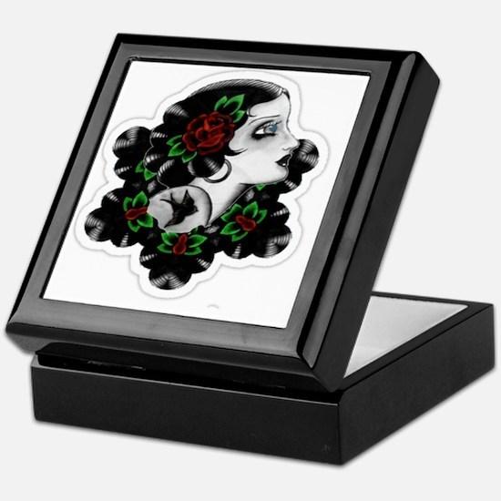 TRADITIONAL ROSE BEAUTY Keepsake Box