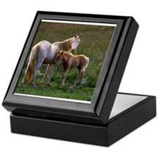 Mare and Foal Keepsake Box
