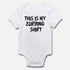 My Zorbing Infant Bodysuit