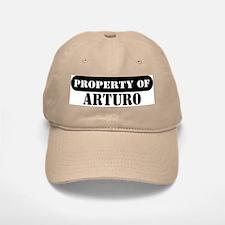 Property of Arturo Baseball Baseball Cap