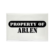 Property of Art Rectangle Magnet