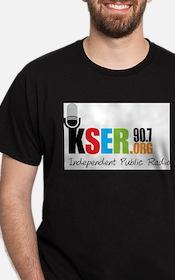 KSER_color_logo T-Shirt