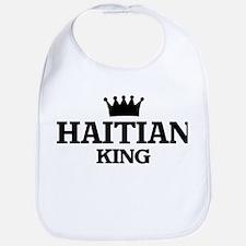 haitian King Bib