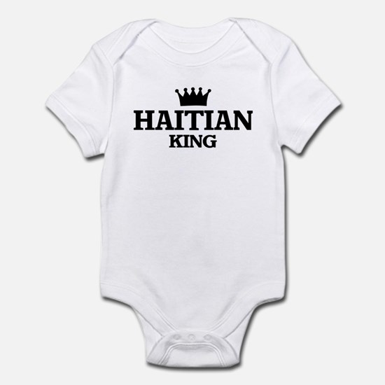 haitian King Infant Bodysuit