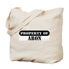Property of Aron Tote Bag