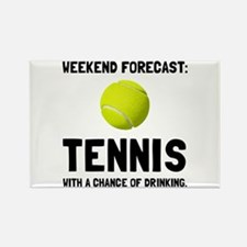 Weekend Forecast Tennis Magnets