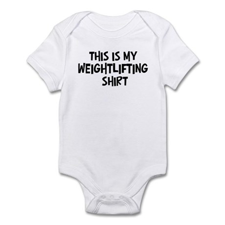 My Weightlifting Infant Bodysuit