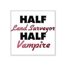 Half Land Surveyor Half Vampire Sticker
