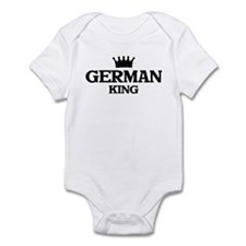 german King Infant Bodysuit