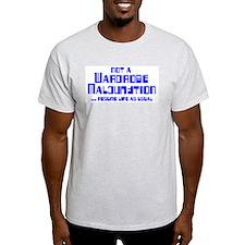 Wardrobe Malfunction Ash Grey T-Shirt