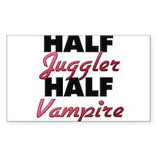 Half Juggler Half Vampire Decal