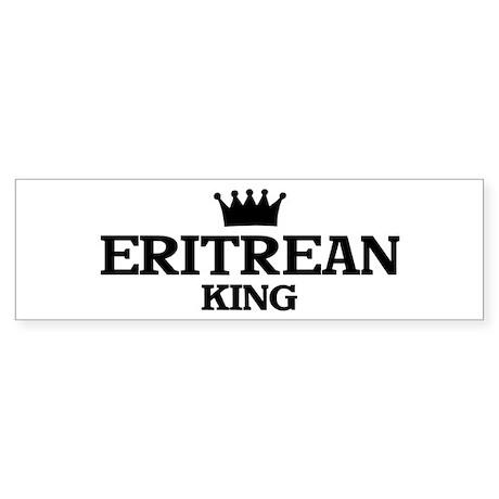 eritrean King Bumper Sticker