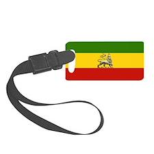 Rasta Ethiopian Lion Luggage Tag