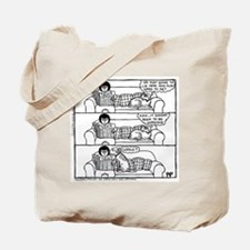 On The Sofa - Tote Bag
